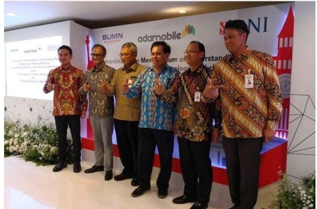 BNI signing ceremony in Jakarta, May 11th 2018
