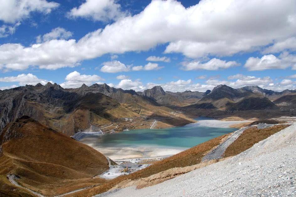 Antamina copper mine in Peru
