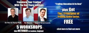 Van Tharp Workshop in London 2018