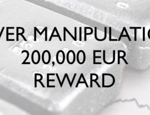 072/18 Silver Manipulation – 200,000 EUR Reward, July 31st 2018