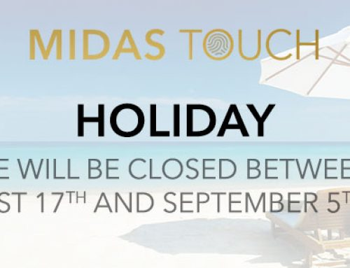 Midas Touch Consulting will be closed for summer holidays from August 17th until September 5th 2020