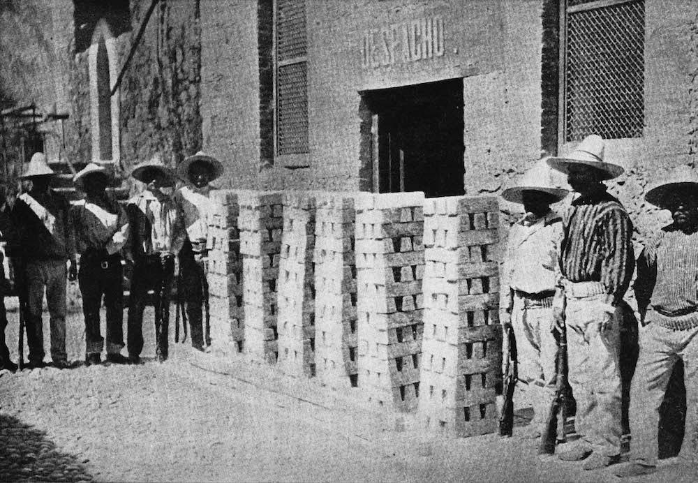 One month bullion shipment of 300K oz fine Silver in Batopilas 1906.
