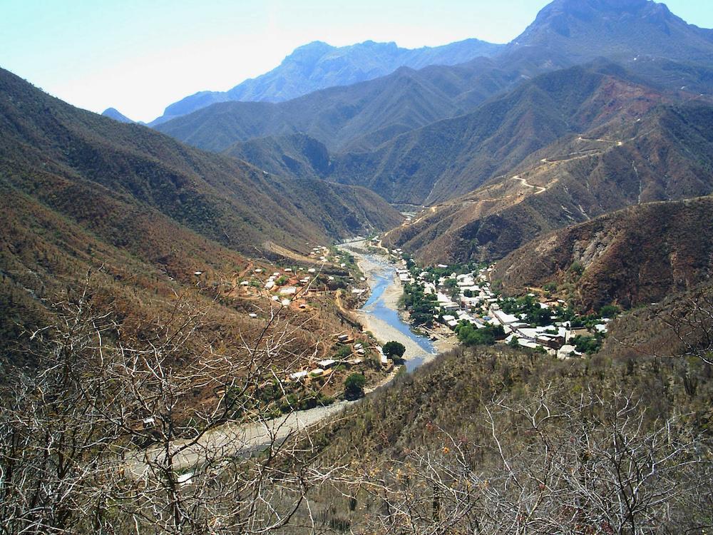 Batopilas Canyon and Town, Mexico.