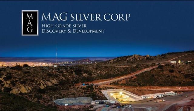 The Juanicipio silver mine in Mexico owned by MAG Silver.