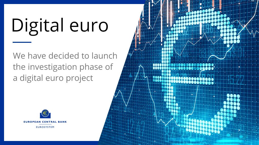 Digital Euro as of Jul 14, 2021. Source: European Central Bank
